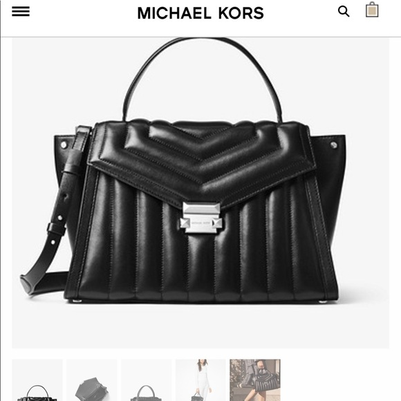 a72520d20771be Michael Kors Bags | Large Whitney Satchel Handbag | Poshmark
